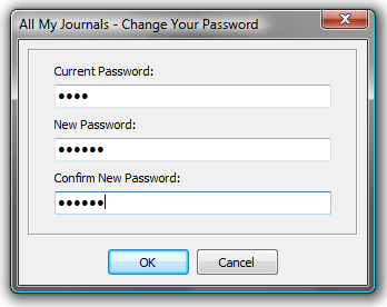 Change or set your password